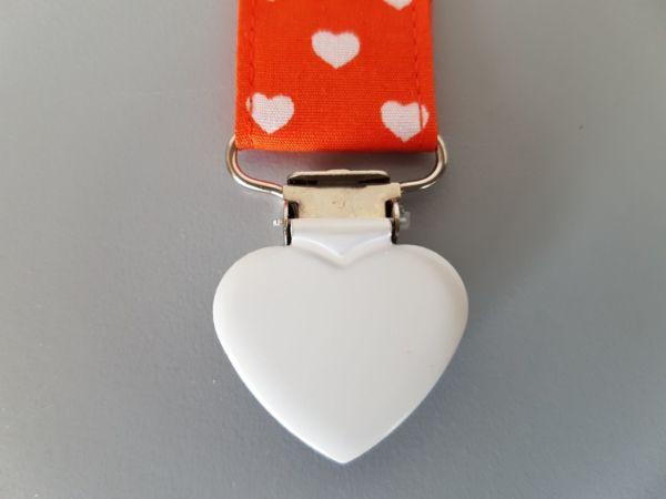 Fruffel servethouder Marleen detail van de sluiting in de vorm van een hartje