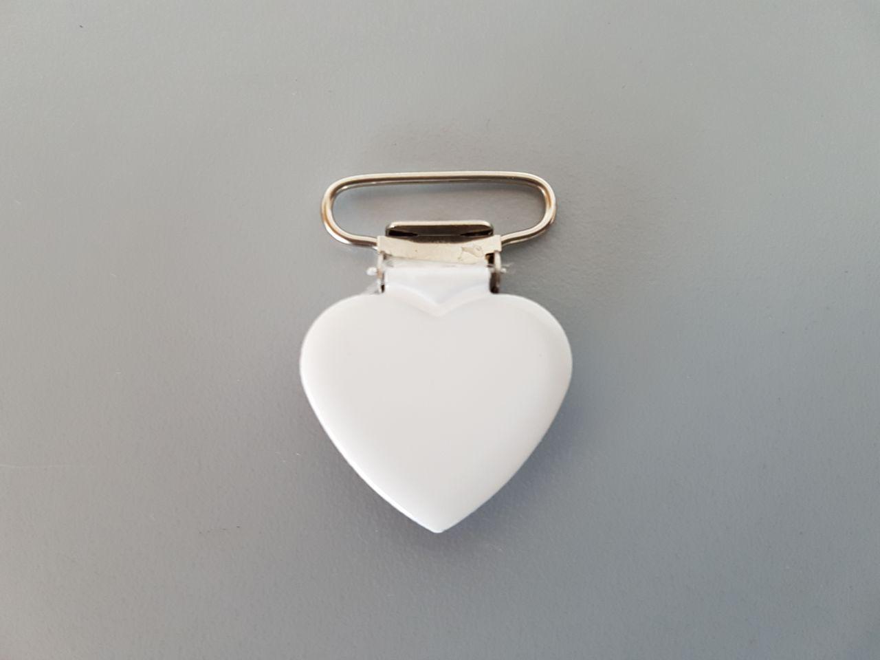 Fruffel servethouder sluiting in de vorm van een hartje